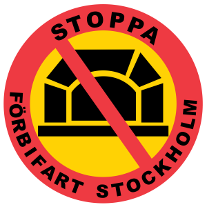 Stoppa Forbifart Stockholm